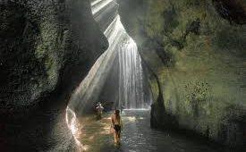 Hidden Tukad Cepung Waterfall Bali